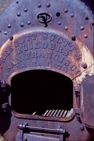 Old boiler, Bodie Ghost Town, Cal (1999)