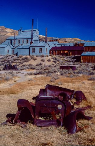 Mine, Bodie Ghost Town, Cal (1999)