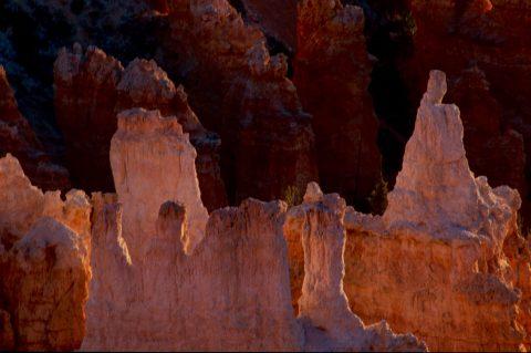 Victoria Hoodoo at sunrise, Bryce Canyon Utah (2004)