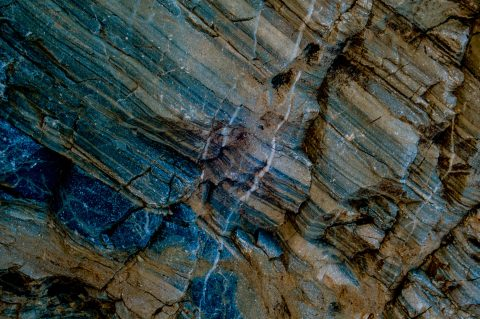 Mosaic Canyon detail, Death Valley CA (1999)