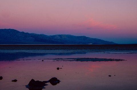 Sunrise, Badwater, Death Valley CA (1999)
