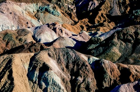 Artists Palette, Death Valley, CA (1999)