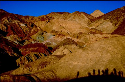 Sunset at Artists Palette, Death Valley, CA (1999)