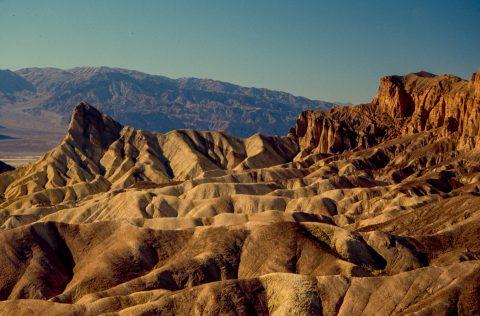 View from Zabriskie Point, Death Valley CA (1999)