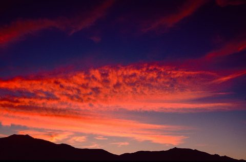 Sunset, Death Valley, CA (1999)