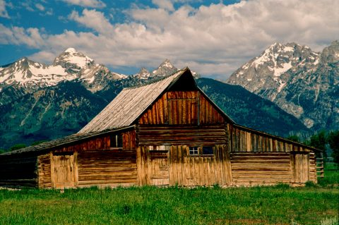 Moulton Barn, Mormon Row, Grand Tetons, Wyoming (2000)