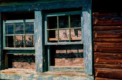 Window, Mormon Row, Grand Tetons, Wyoming (2000)