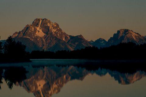 Mount Moran & Oxbow Bend, Grand Tetons, Wyoming (2000)