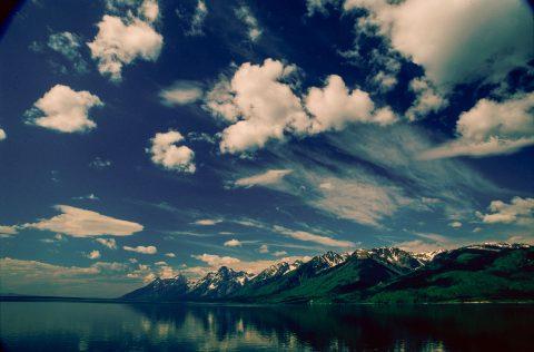 Jackson Lake, Grand Tetons, Wyoming (2000)
