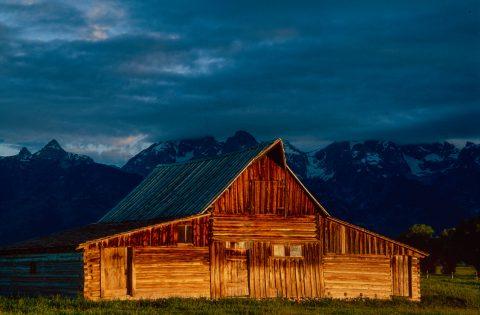 Sunrise, Moulton Barn, Grand Tetons, Wyoming (2000)