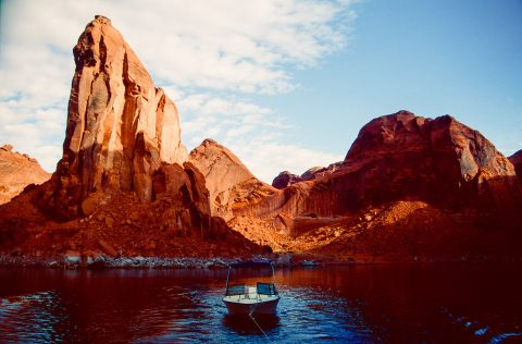 Cow Canyon, Escalante River, Lake Powell, Utah (1996)
