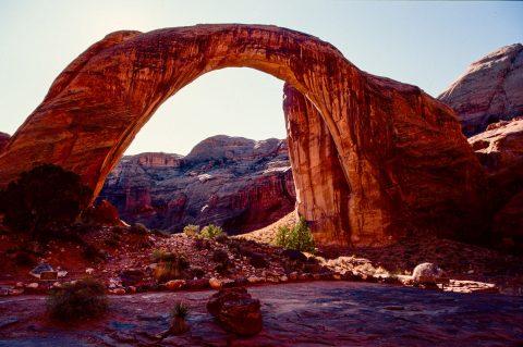 Rainbow Natural Bridge, Lake Powell, Utah (1996)