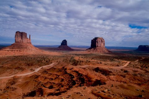 The Mittens, Monument Valley, Utah (2004)