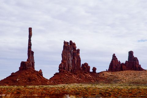 Totem Pole group, Monument Valley, Utah (2004)