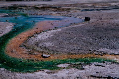 Crackling Lake, Norris Geyser Basin, Yellowstone WY (2000)