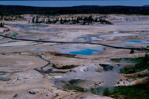Porcelain Basin, Norris Geyser Basin, Yellowstone WY (2000)