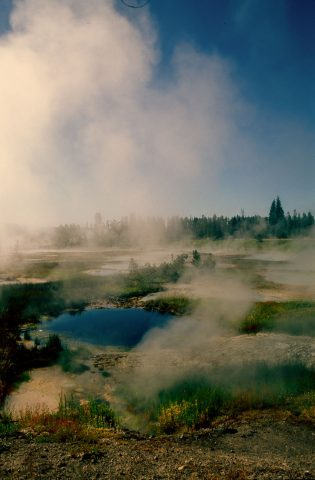 Excelsior Geyser, Midway Basin, Yellowstone WY (2000)