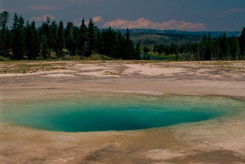 Opal Pool, Midway Geyser Basin, Yellowstone WY (2000)