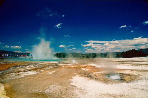 Rainbow Pool, Black Sand Geyser Basin, Yellowstone WY (2000)