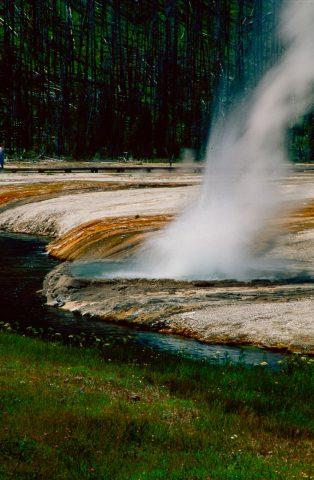 Iron Spring Creek, Black Sand Basin, Yellowstone WY (2000)