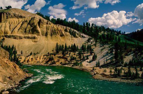 Yellowstone River, Yellowstone Canyon, WY (2000)