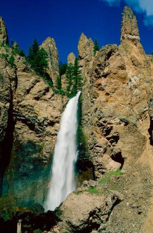 Tower Falls, Yellowstone, WY (2000)