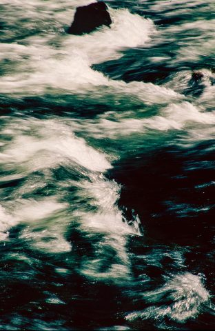 Le Hardy Rapids, Yellowstone River, WY (2000)