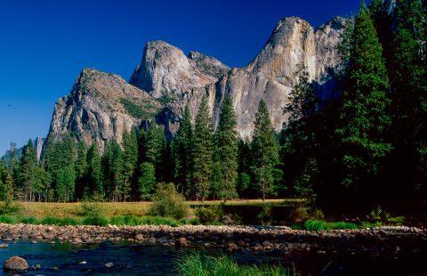 Cathedral Rocks, River Merced, Yosemite (1999)