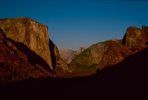 Half Dome from Tunnel View, Yosemite (1999)