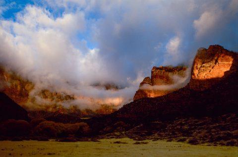 Zion Canyon sunrise, Utah (2004)